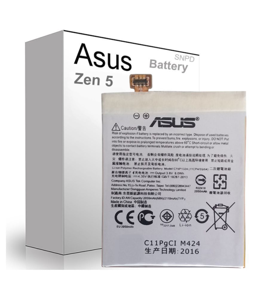 best authentic 6496c 396b2 Asus Zenfone 5 A500CG 2050 mAh Battery by SNPD