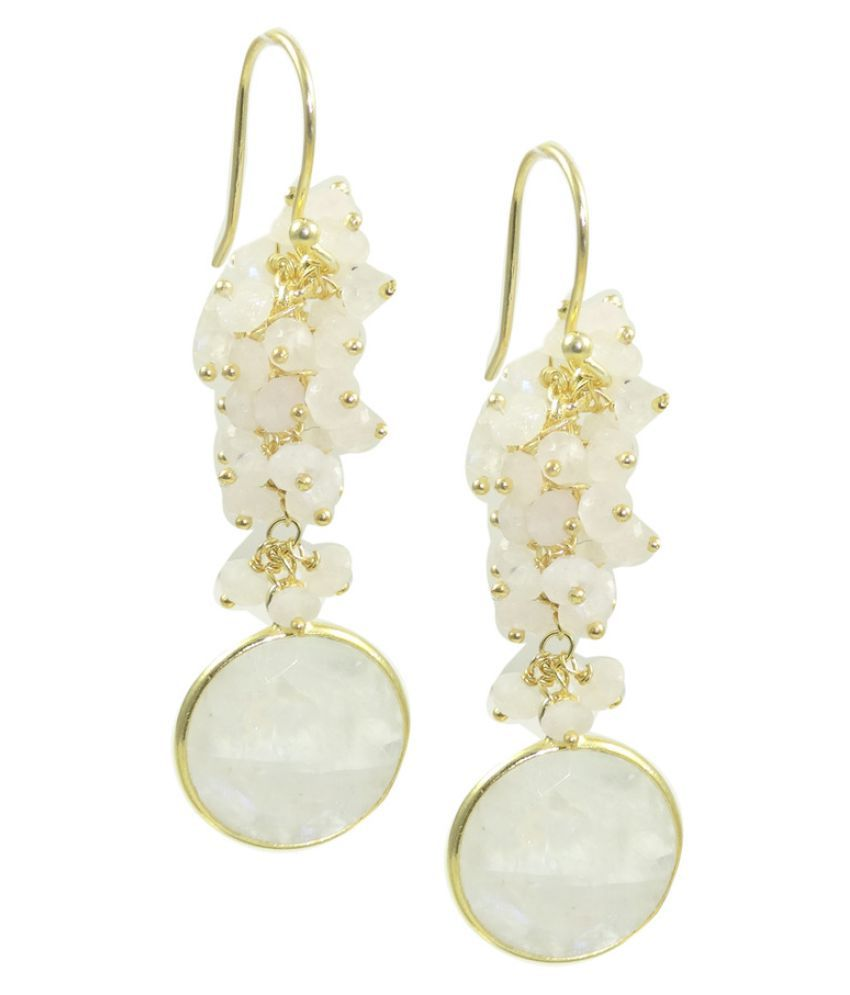 Elotic 92.5 Silver Pearl Hangings