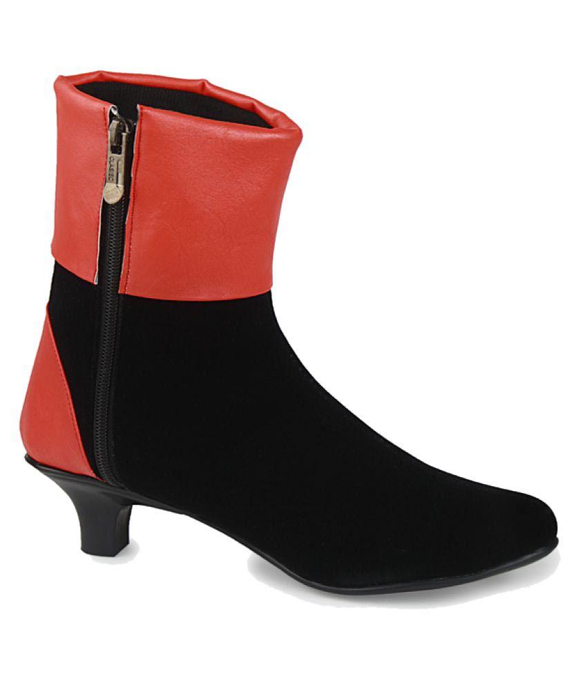 Fadrin Multi Color Mid Calf Chelsea Boots
