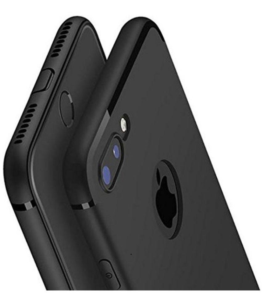 sale retailer fa8a2 2b011 Apple iPhone 7 Plus Soft Silicon Cases Wow Imagine - Black