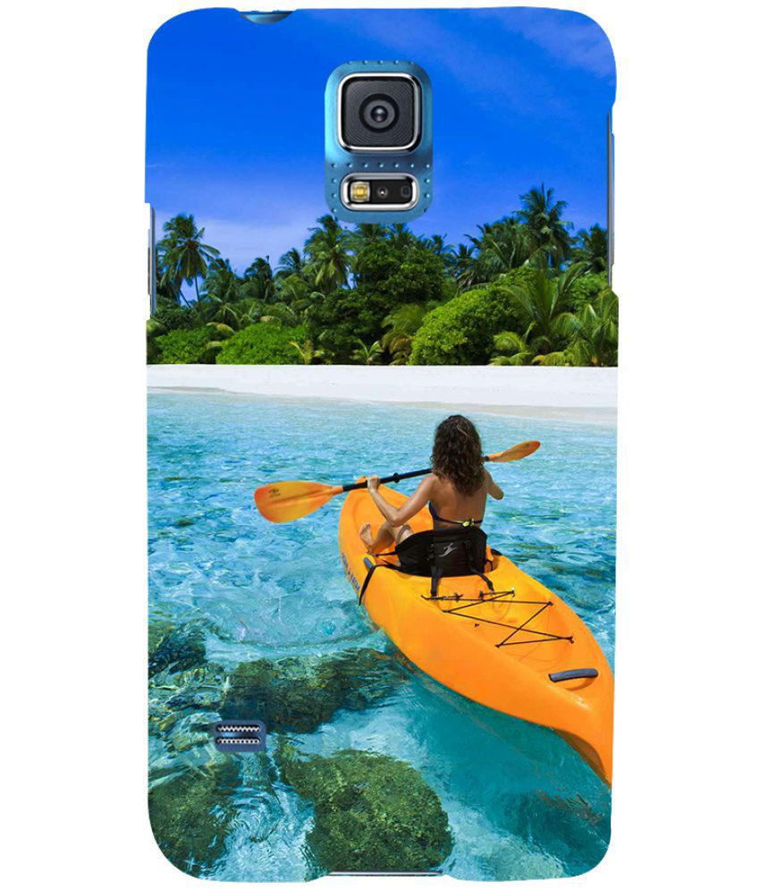 Samsung Galaxy S5 Printed Cover By Printvisa