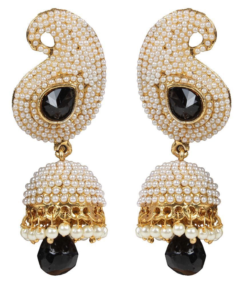 Penny Jewels Alloy Party Wear Jhumki Set For Women & Girls
