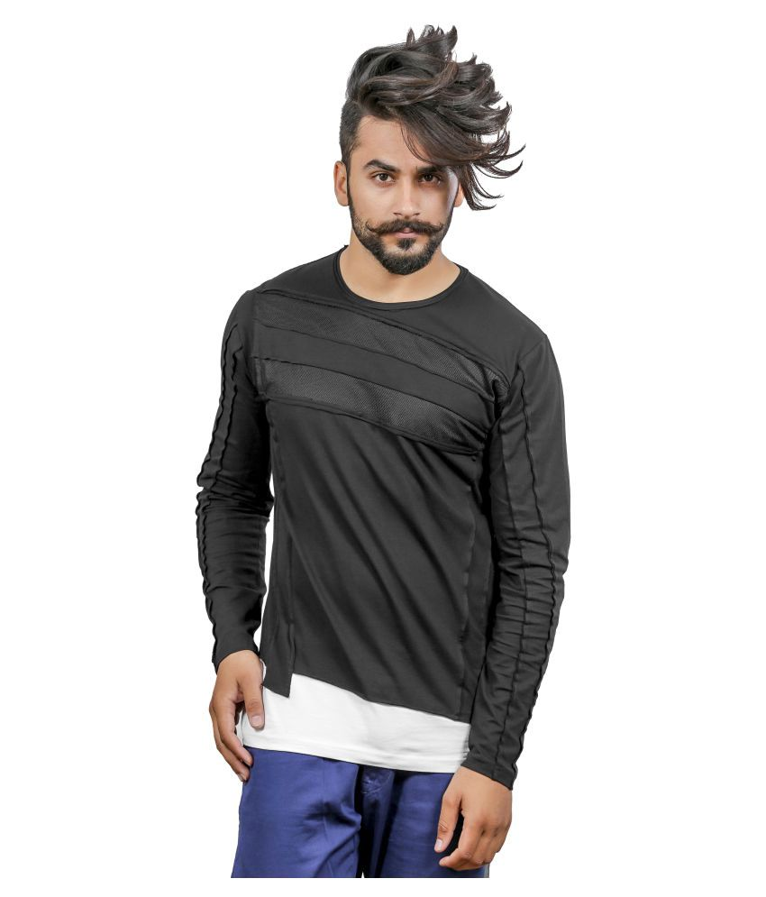 Rellin Black Round T-Shirt