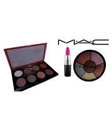 Huda Beauty Beauty Highlight&contour Pro Palette&,mac Lipstick,concealer Makeup Kit 35 Gm