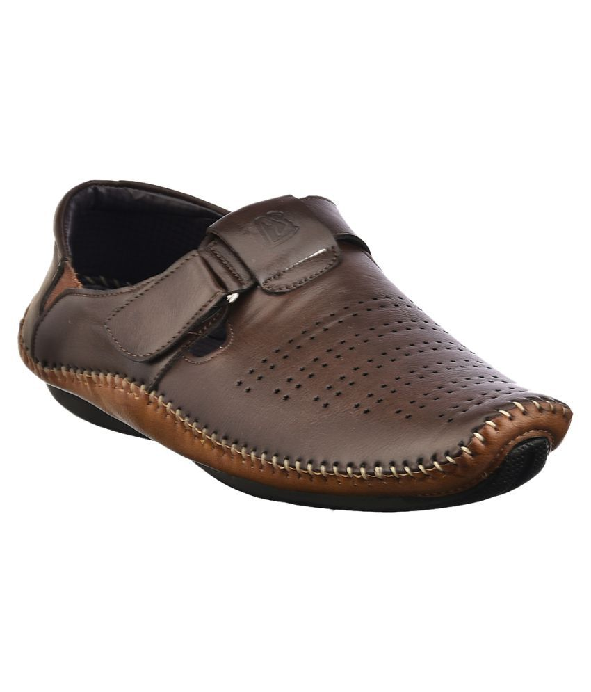 Look Style Bvsl118 01 Brown Sandals Price In India Buy
