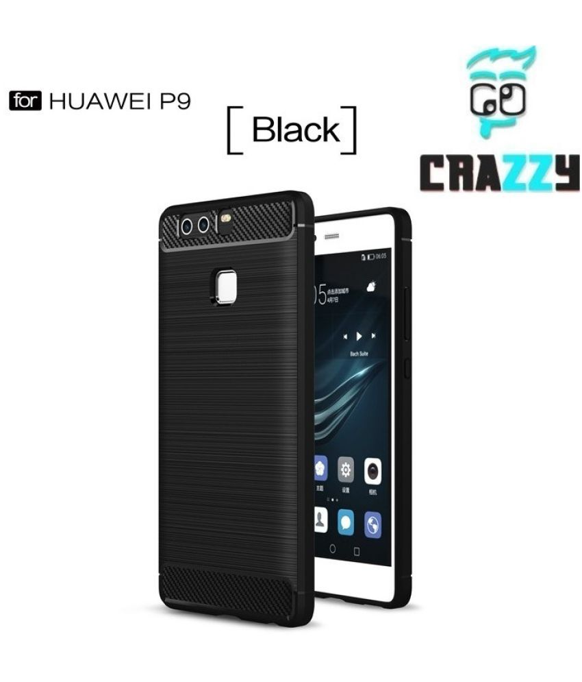 Huawei P9 Lite Defender Series Covers Go Crazzy - Black
