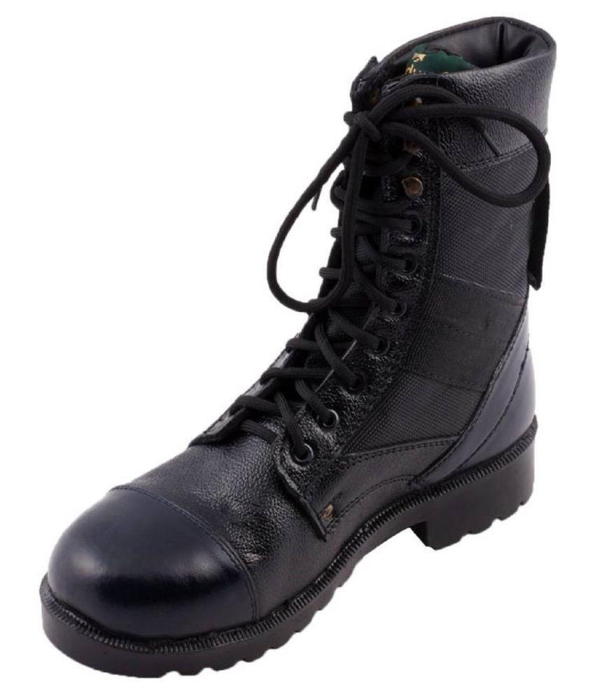 3D Eye Black Hiking & Trekking Boot