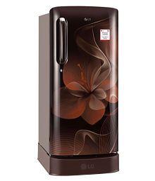 LG 190 Ltr 4 Star GL-D201AHDX Single Door Refrigerator - Brown