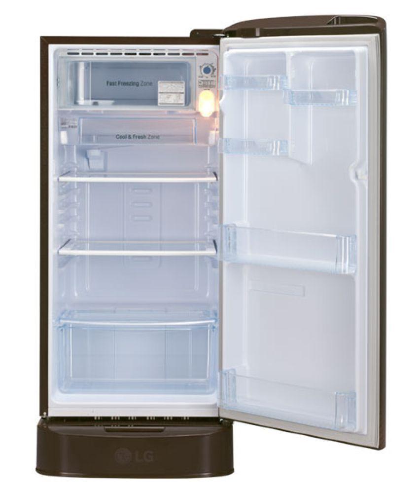 LG 190 Ltr 4 Star GL-D201AHDX Single Door Refrigerator - Brown Price in India - Buy LG 190 Ltr 4 ...