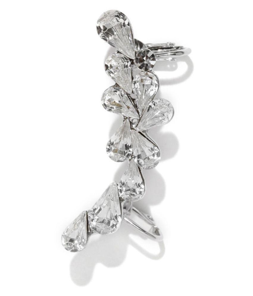 Tipsyfly Western Crystal Melange Ear Cuff Bracelet For Women
