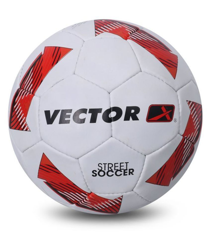 Vector X Street Soccer White Football / Ball Size  5