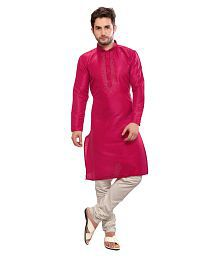 faf71f13a7 Pink Kurta Pyjama Sets: Buy Pink Kurta Pyjama Sets for Men Online at ...