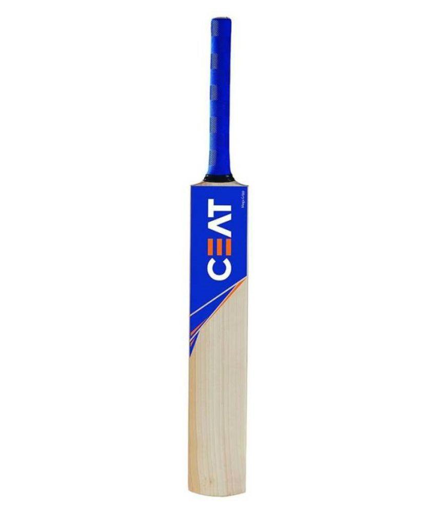 Ceat Sticker Popular/Popular Willow Cricket Bat (Size-6)