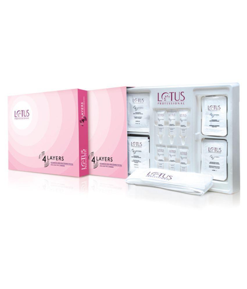 Lotus Professional 4 Layer Skin Whitening Facial Kit Gm Buy Lotus