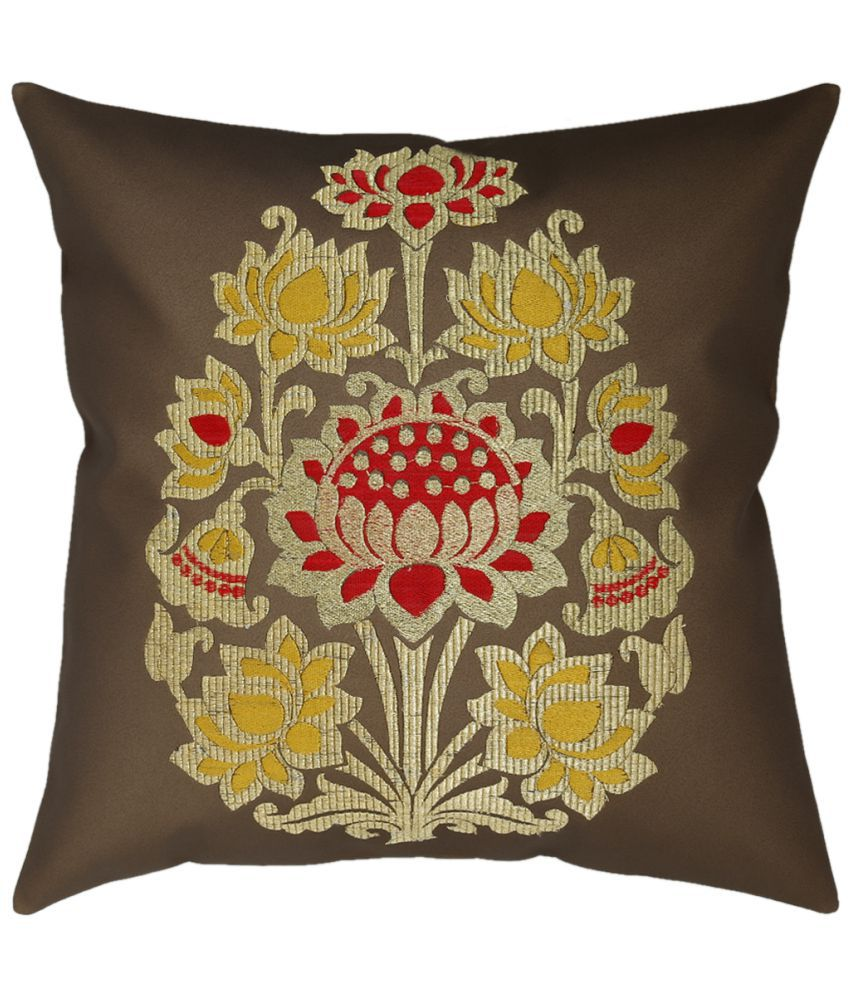 Jagdish Store Single Cotton Cushion Covers 40X40 cm (16X16)