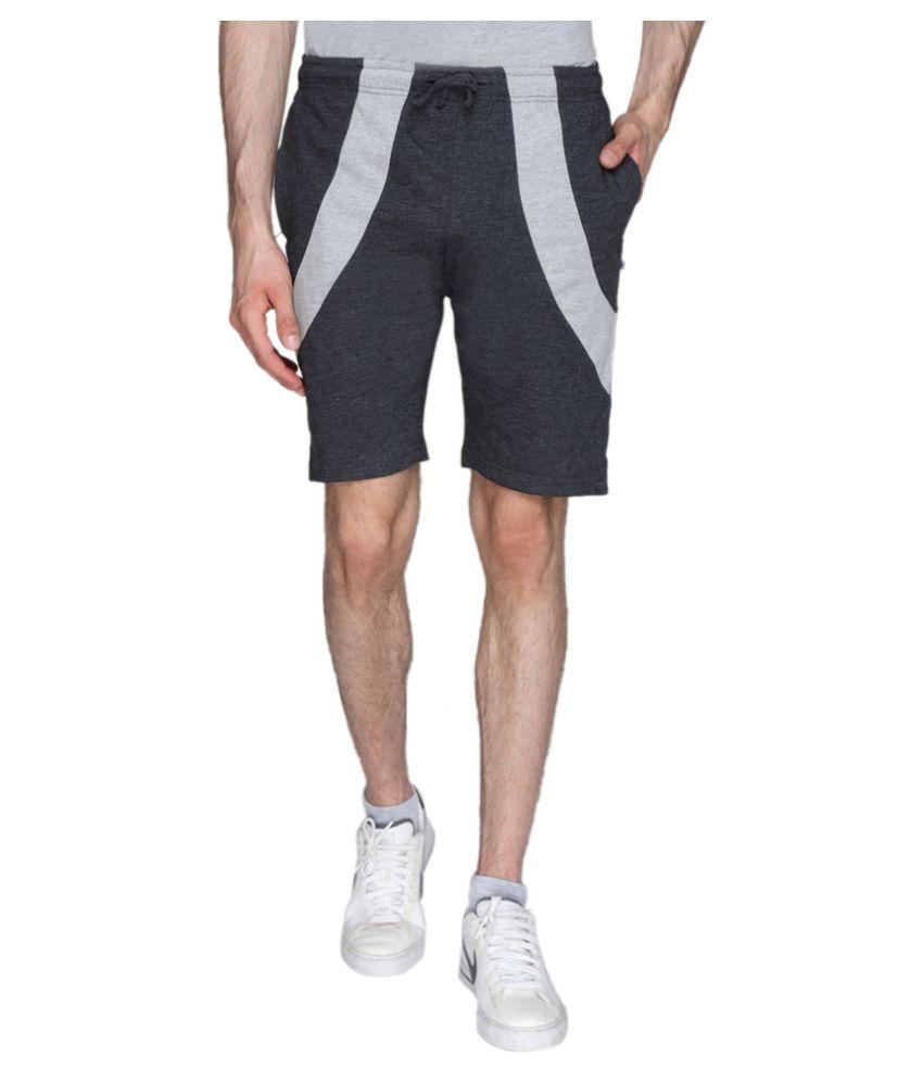 HAPPY HOURS Grey Shorts