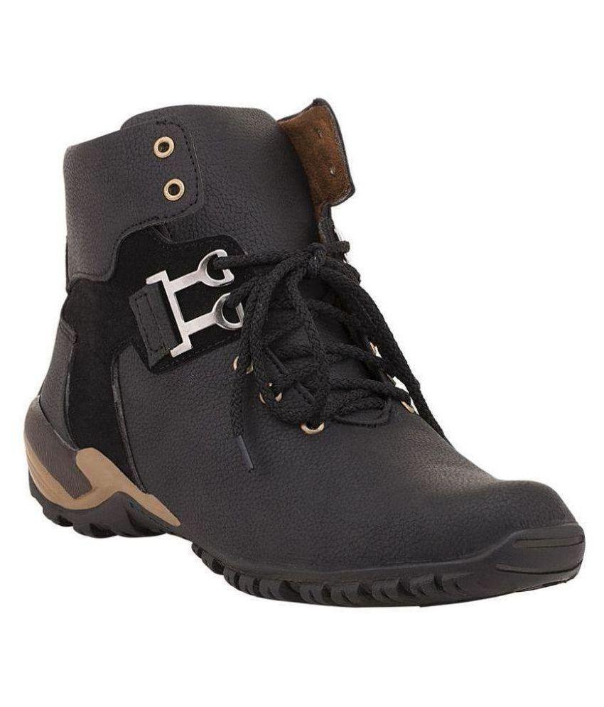 LIZAA Brown Casual Boot