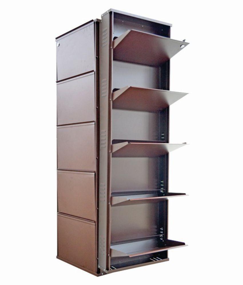 Vladiva 5 Level Metal Shoe Rack