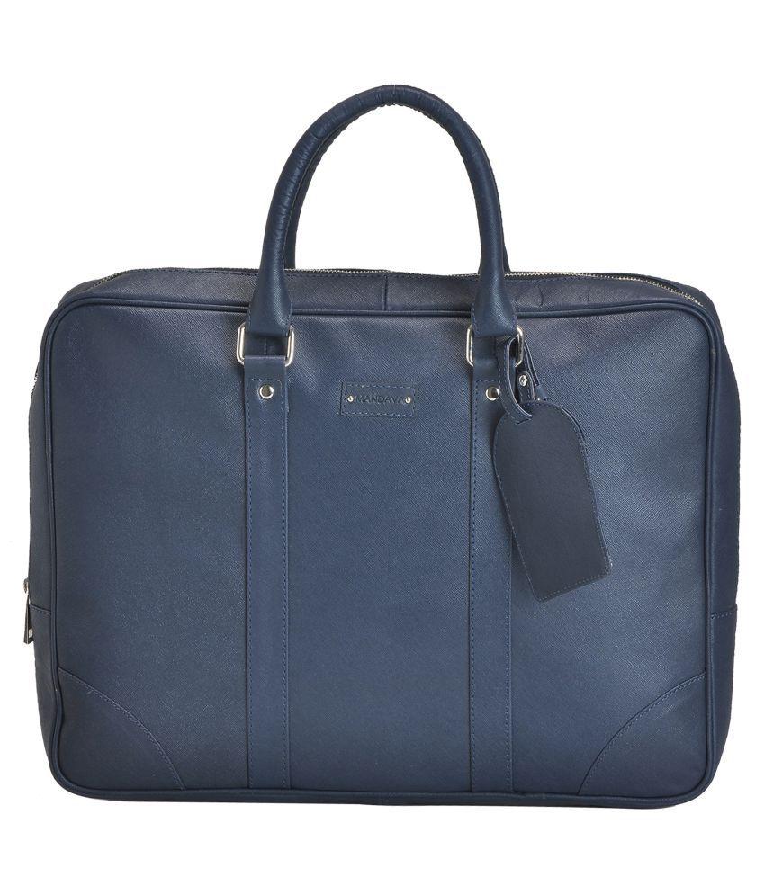 MANDAVA Blue Laptop Sleeves
