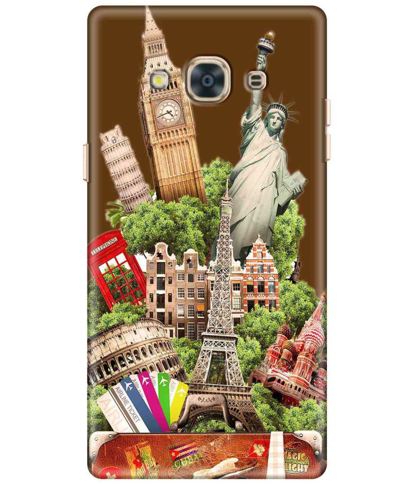 Samsung Galaxy J3 Pro Printed Cover By ZAPCASE