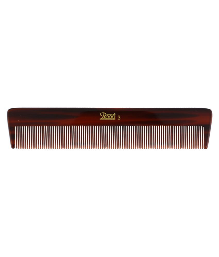 Roots Fine Tooth Rattail Comb