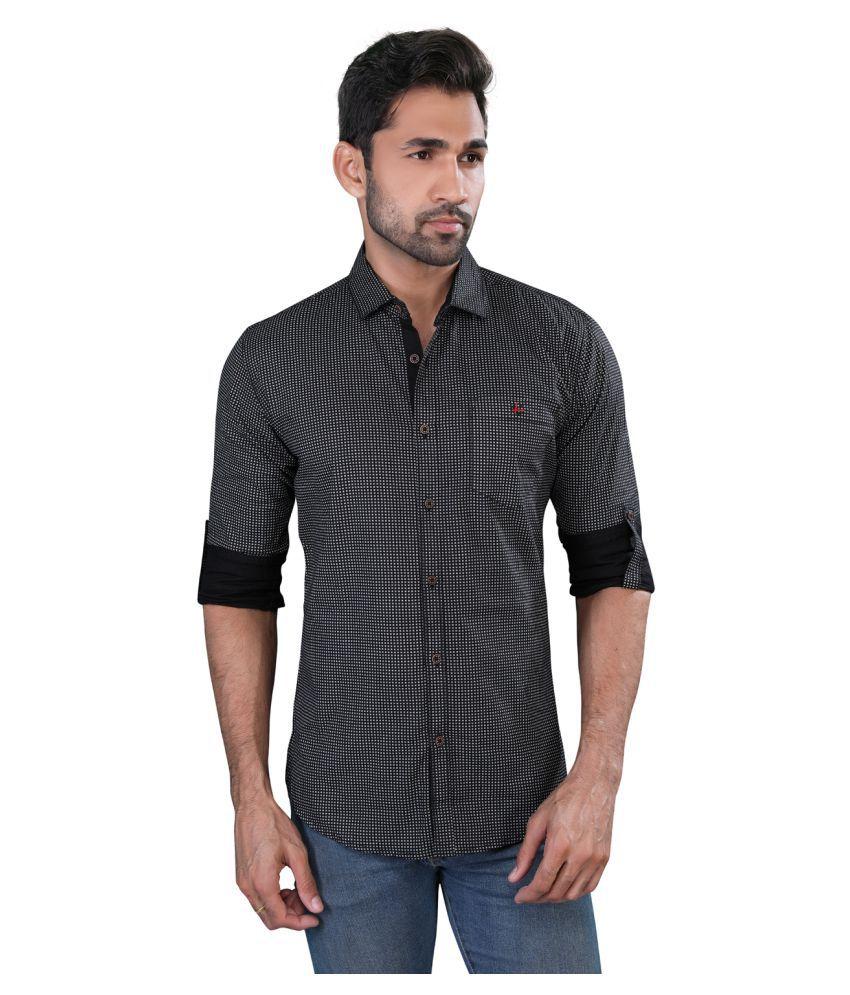 Londondays Black Casual Slim Fit Shirt Buy Londondays