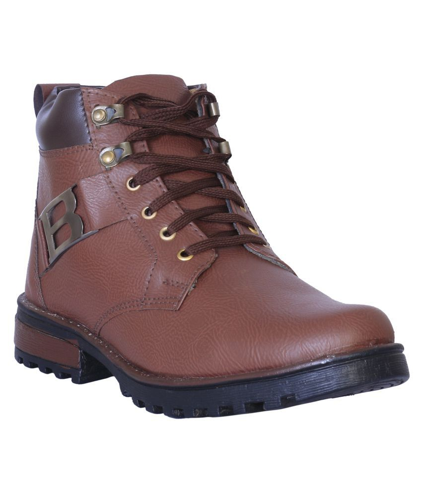 GRESSY Brown Party Boot