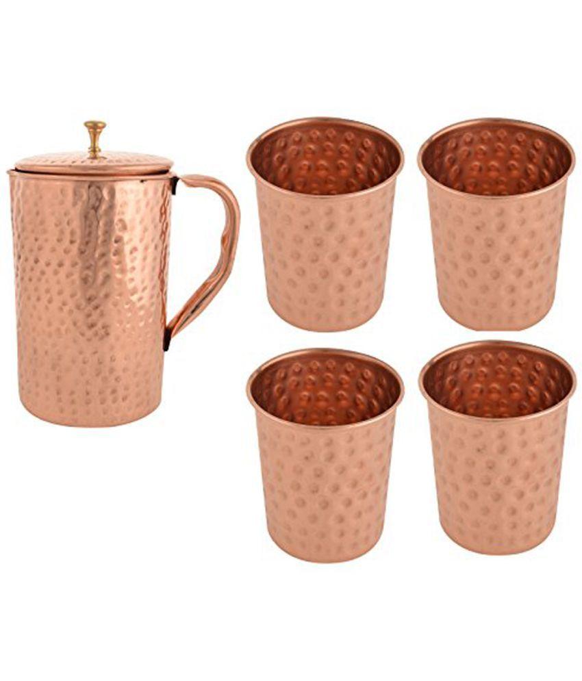 Vintageware Herbal healthcare Hammerd Copper Jugs 1250 ml