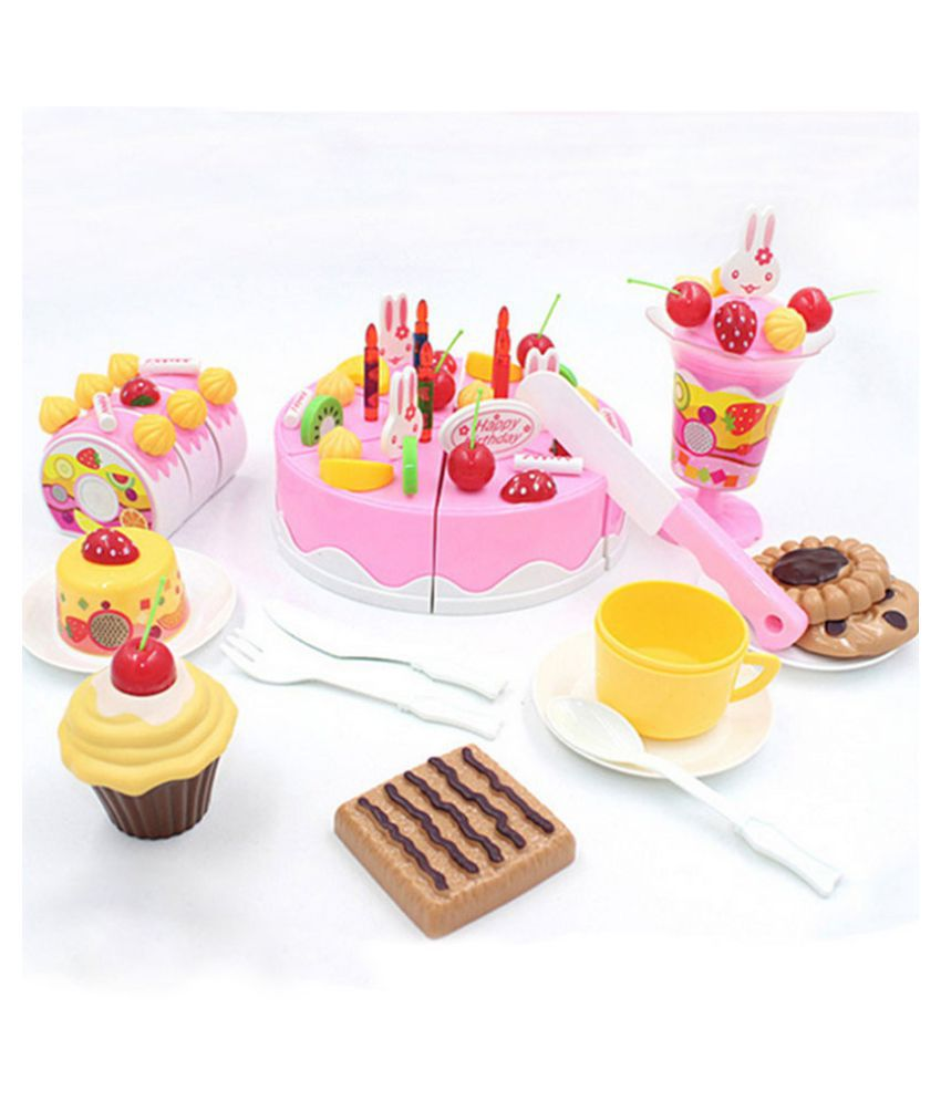 Webby Musical DIY Birthday Cake Toy 75 Pieces