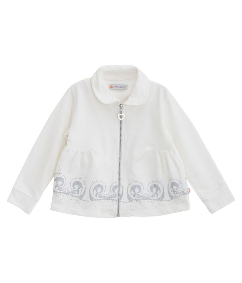 FS MiniKlub Girl's Jacket-Off White
