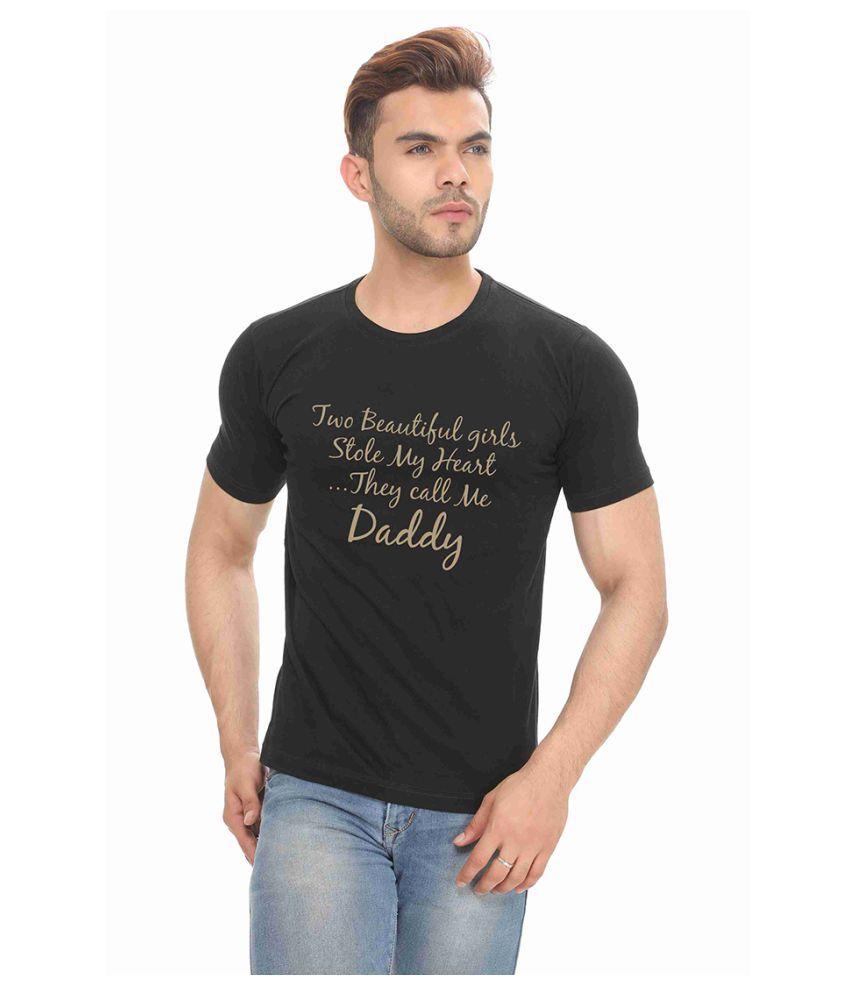 THE HEX Black Round T-Shirt