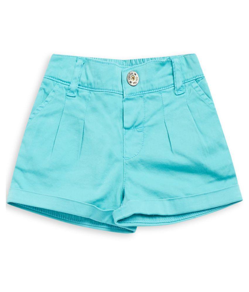FS MiniKlub Girl's Woven Shorts-Blue