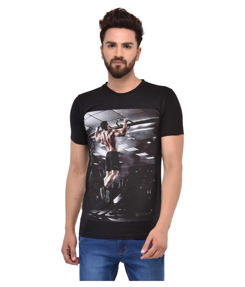 MSG Black Round T-Shirt