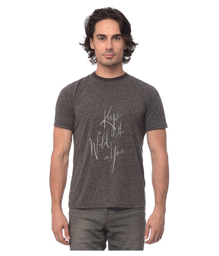 YOLOCLAN Grey Round T-Shirt