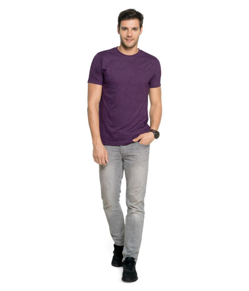 Zorchee Purple Round T-Shirt