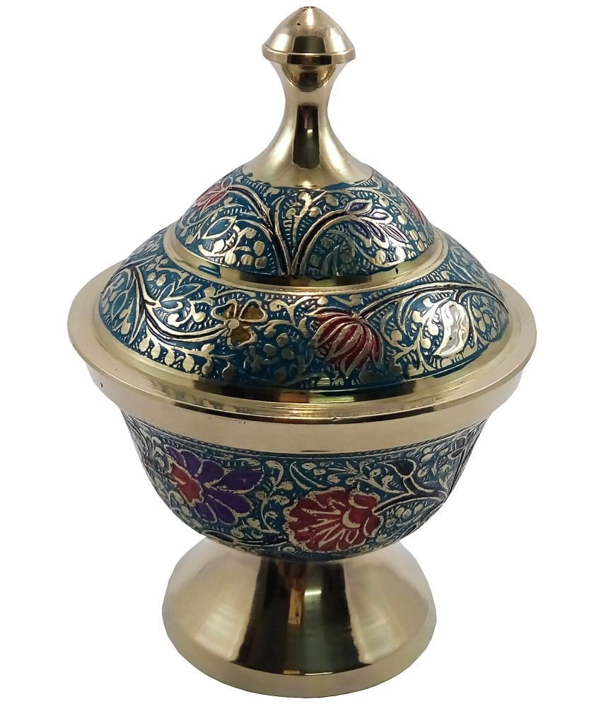 MOZO HUB MOZOHD0052 Brass Tea/Coffee/Sugar Container Set of 1