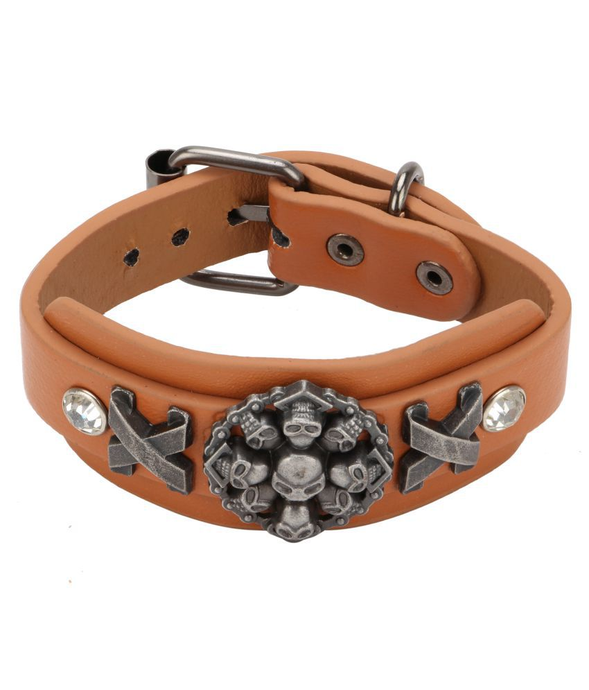 Bulls Hide Casual Leather Bracelet