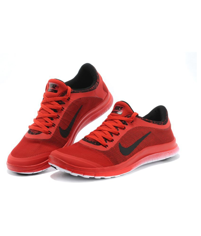 b315f9099164 nike free 5.0 mens buy online india  Nike Air FREE 3.0 RED Running Shoes  available at SnapDeal for Rs.3099