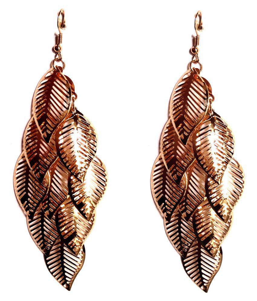 Fashionable  Golden Earrings for women & Girls by shrungarika