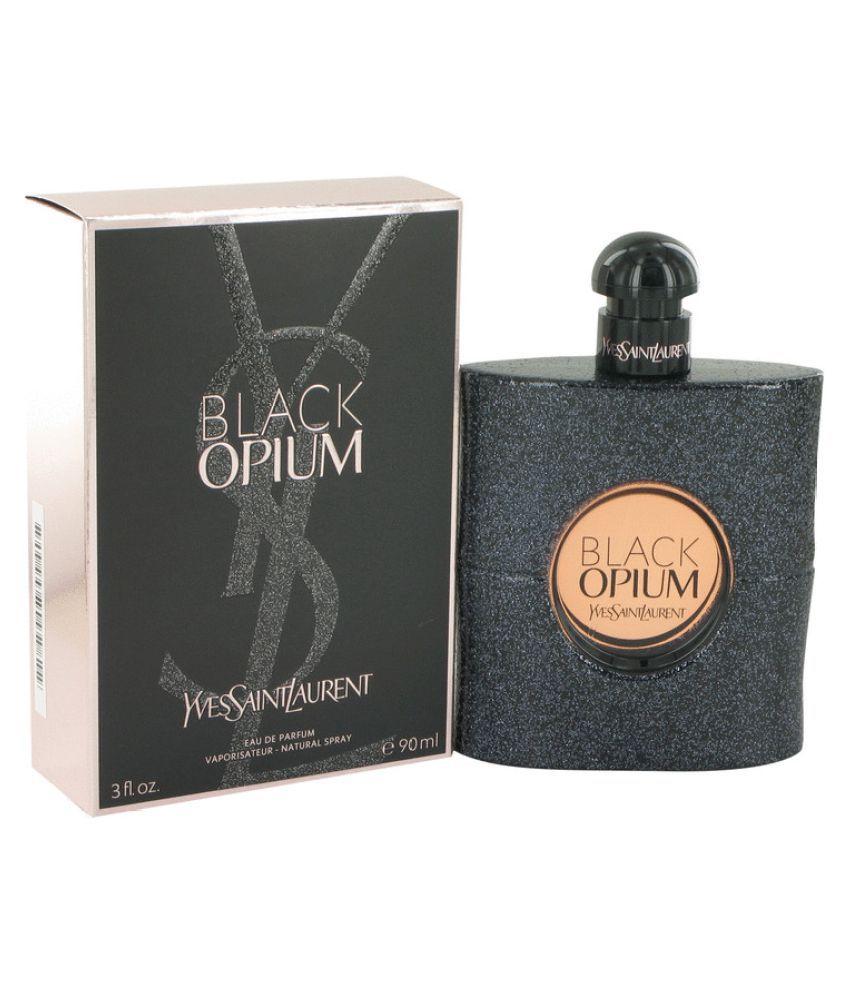 09d16e748f3 Yves Saint Laurent Black Opium Eau De Parfum Spray-90ml: Buy Online at Best  Prices in India - Snapdeal