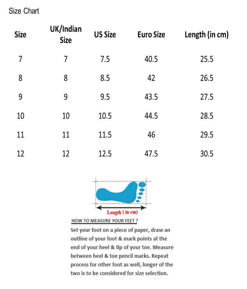 Indian Womens Shoe Size Chart Toffee Art