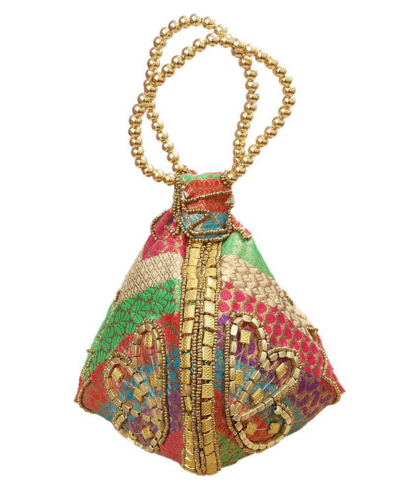 Yokoso International Multi Brocade Sling Bag