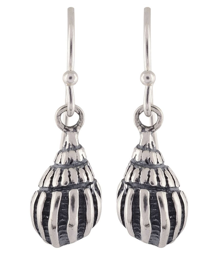Silverwala 92.5 Silver None Drop Earrings