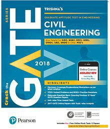 GATE Civil Engineering 2018, (1e) by Pearson