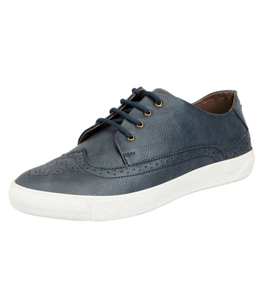 Fausto Lifestyle Blue Casual Shoes