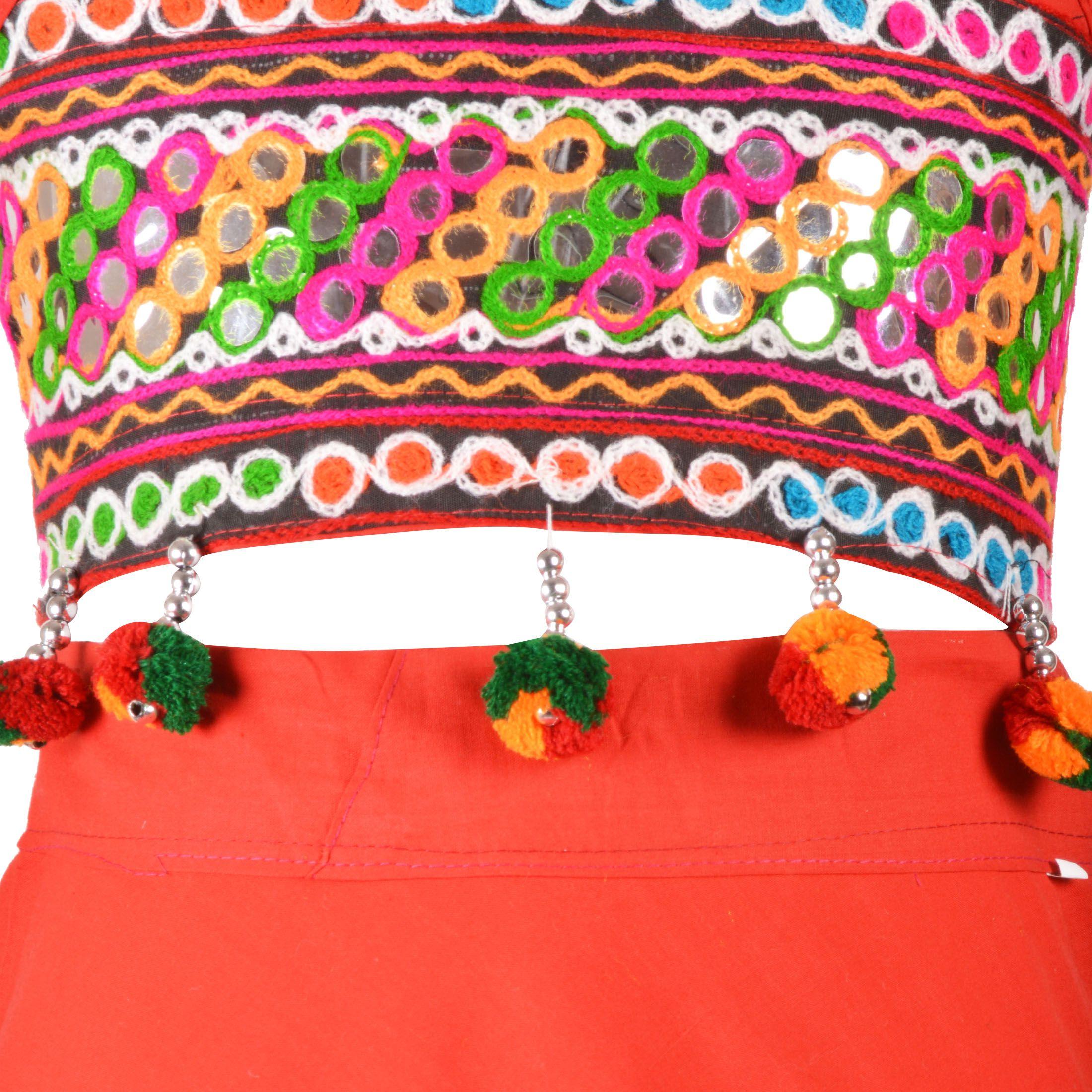 Aarika Girl s Traditional Gujarati Lehenga Choli Set Buy Aarika