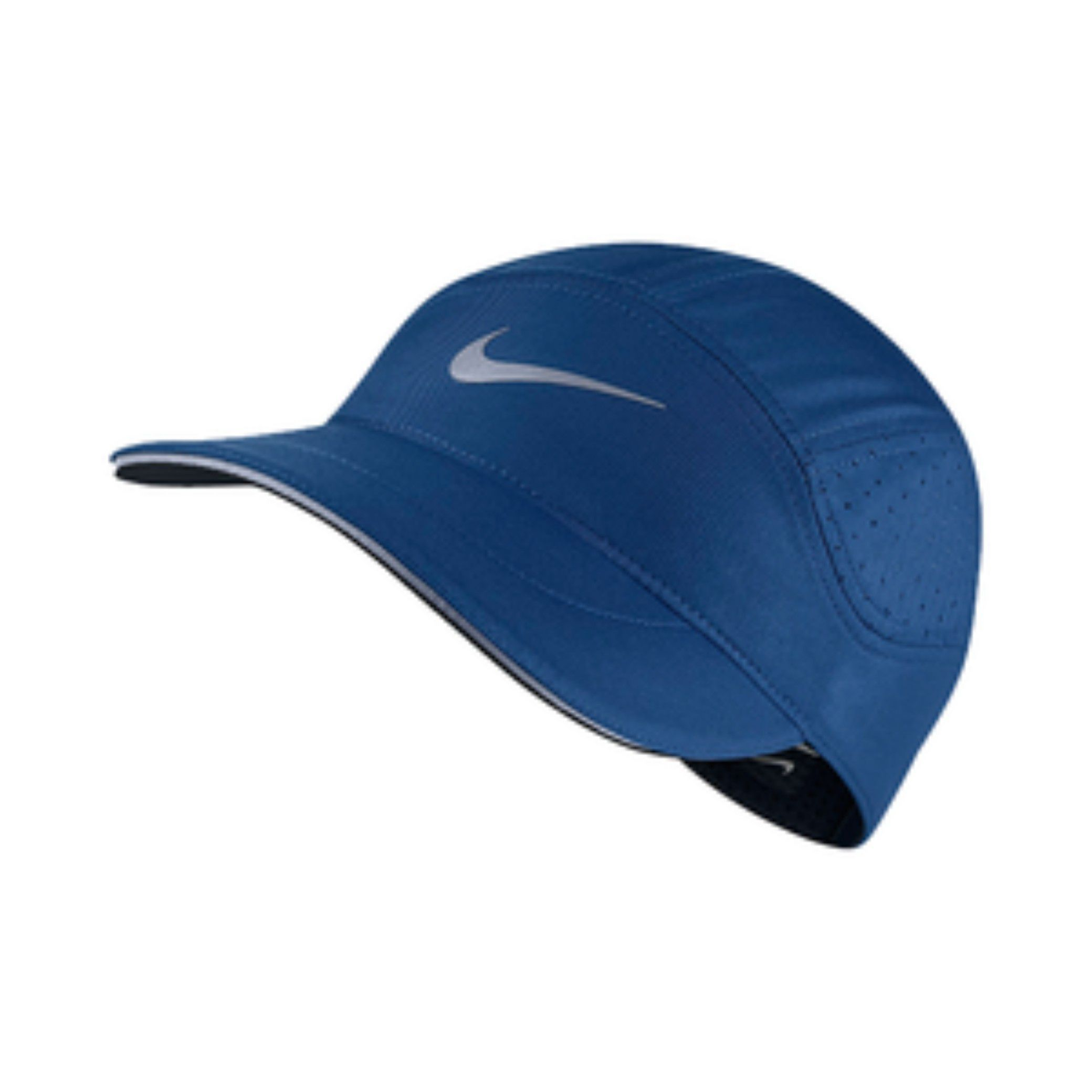5714f615c54 Nike Blue Printed Polyester Caps - Buy Online   Rs.