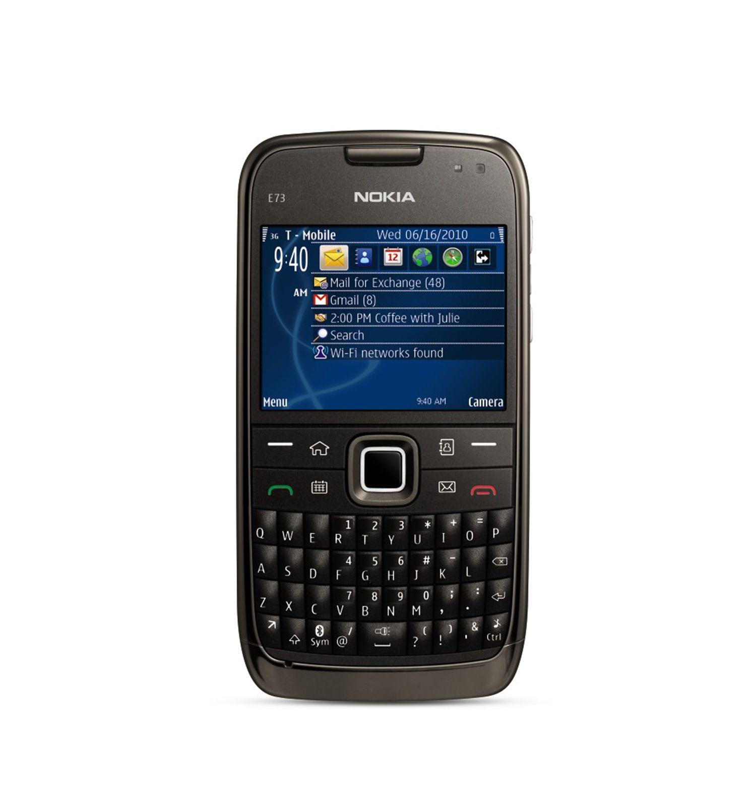 Nokia E73 250MB Black