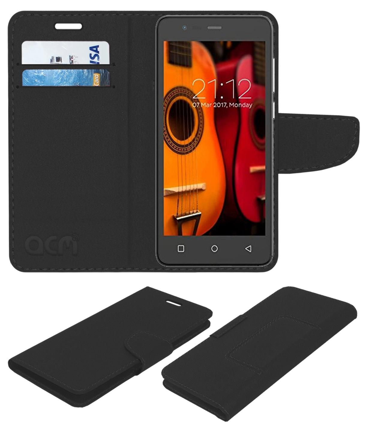 Zen Admire Buzz Flip Cover by ACM - Black