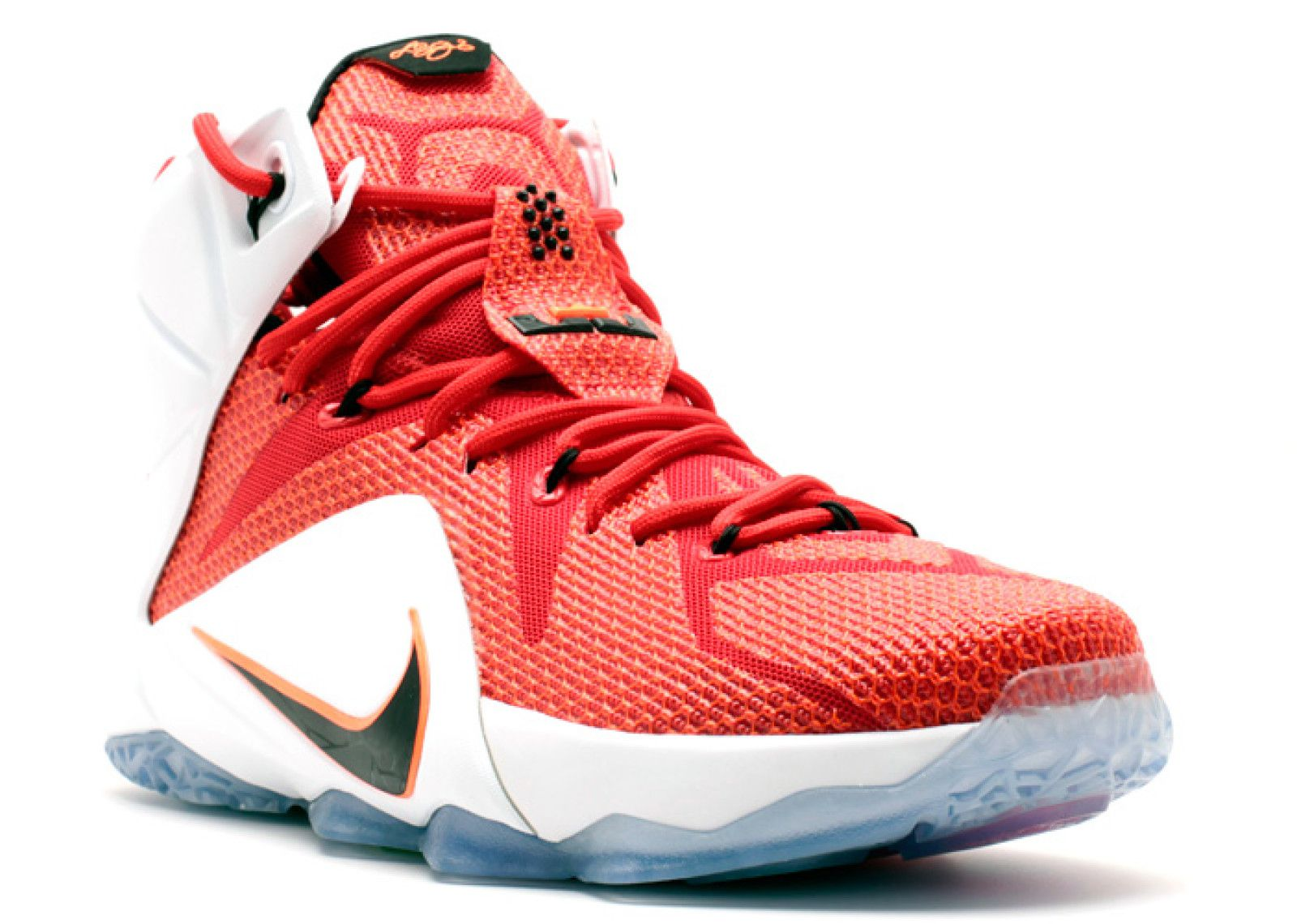 ... Nike Lebron X11 Heart Of A Lion Red Basketball Shoes ...